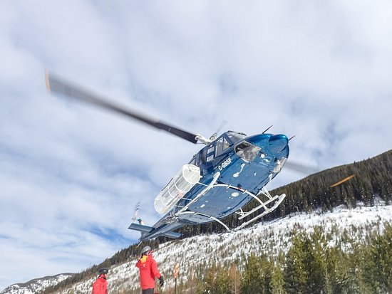 Panorama, Kanada: Out and about - heli skiing