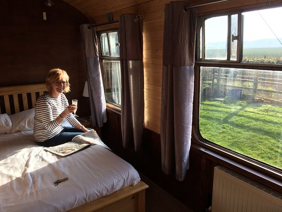 The Sidings Hotel: Next to the East Coast Mainline. Good if you like to watch and hear trains!