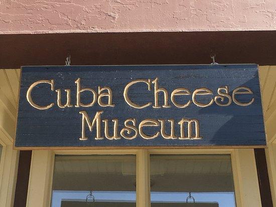คิวบา, นิวยอร์ก: Cuba Cheese Museum Cuba, NY