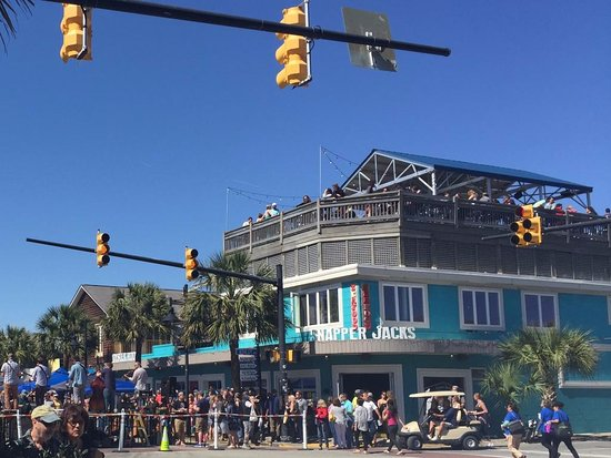 Snapper Jacks: Everyone's favorite place during folly festivals!
