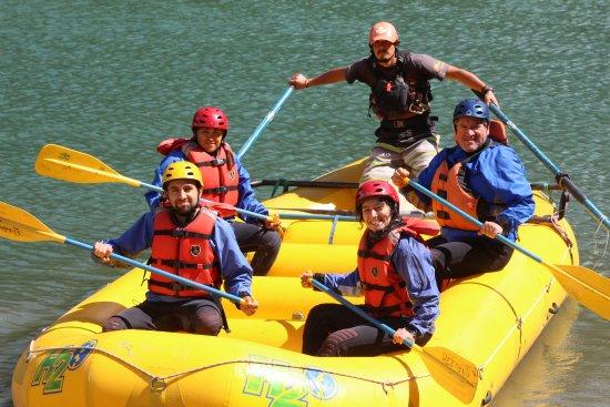 Patagonia Elements: Al inicio de la actividad estábamos expectantes y felices.Todo bien!!