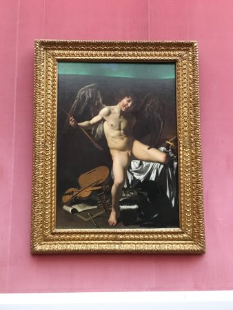 Gemäldegalerie: Caravaggio - Amor Vincit Omnia