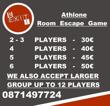 Athlone, Ιρλανδία: price list