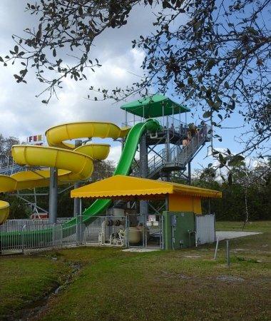 Loxahatchee, ฟลอริด้า: water slides