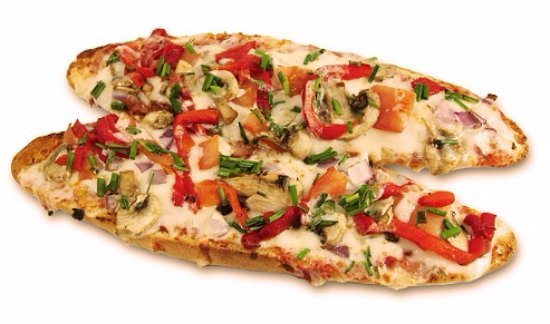 Bamboo Cafe: Pizza Baguette