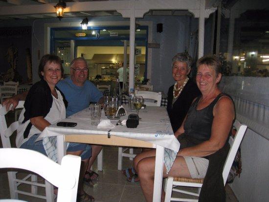 Gregory's Taverna: Vores venner på besøg