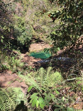 Parque Nacional de Chapada das Mesas, MA: olhando lá do início da descida