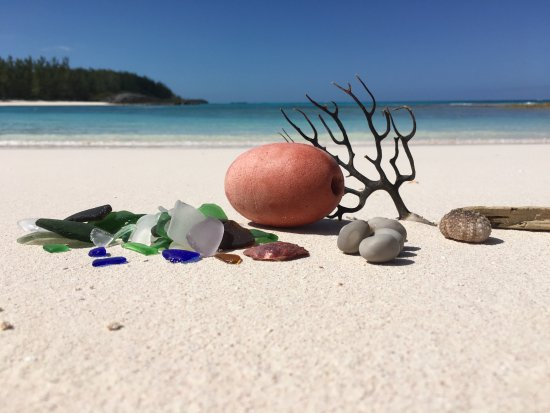 Capt. Kid & Son Charters: Sea Glass Find at the Beach