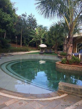 Thermas Park Resort & Spa: Piscina próximo à Brinquedoteca/Sala de Ginástica