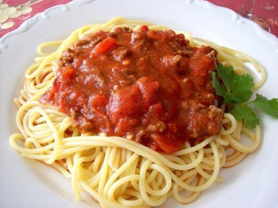 Bamboo Cafe: Spaghetti
