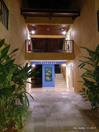 Thermas Park Resort & Spa: Hall de entrada dos apartamentos