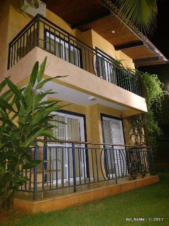 Thermas Park Resort & Spa: Fachada dos quartos (varanda)
