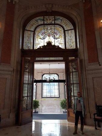 Pestana Palace Lisboa: Entrada para recepção