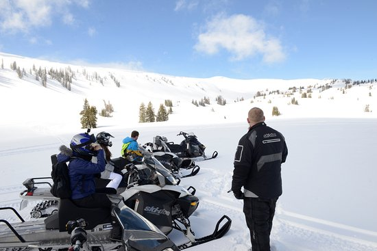 Snowmobile Adventures at Thousand Peaks: Super Bowl
