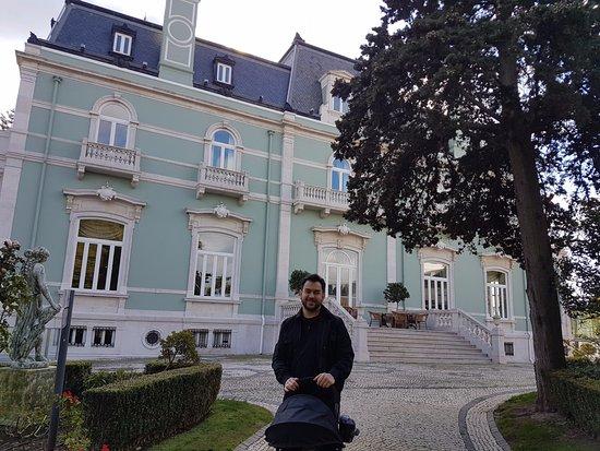 Pestana Palace Lisboa: Belos jardins