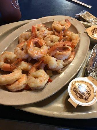 Old Greenbrier Restaurant: Boiled shrimp $13 for 2 dozen! Served with potato & salad!!