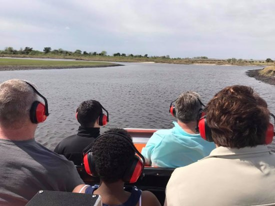 Capt Duke's Airboat Rides: Touring the St Johns River