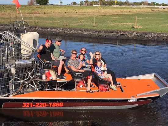 Christmas, FL: Happy happy happy! Airboat Life!!!