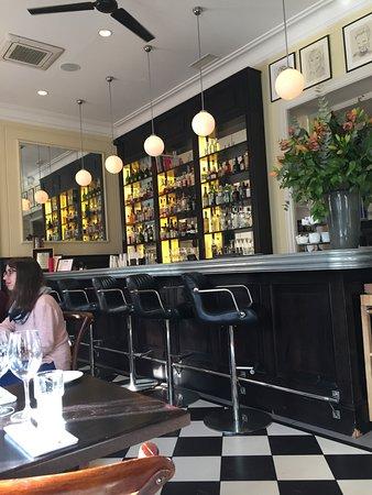 Brasserie Warszawska: Bar area