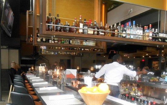Luke's Kitchen and Bar: With a big bar