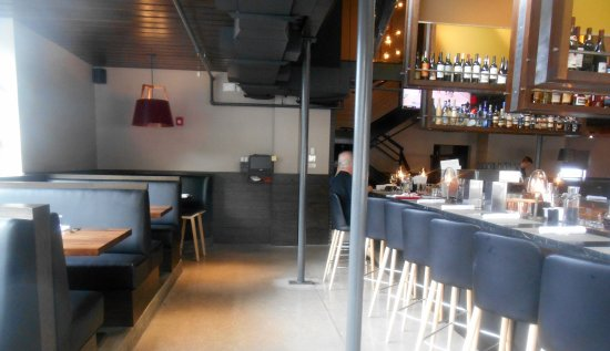 Luke's Kitchen and Bar: and booth seating as well