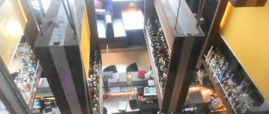 Luke's Kitchen and Bar: View from above