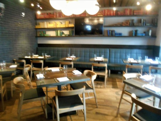 Luke's Kitchen and Bar: Private room is open setting, but can be made private