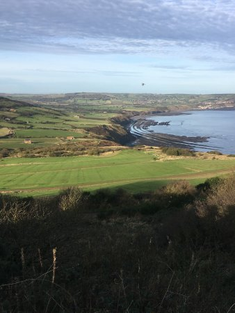 Ravenscar, UK: mid-day
