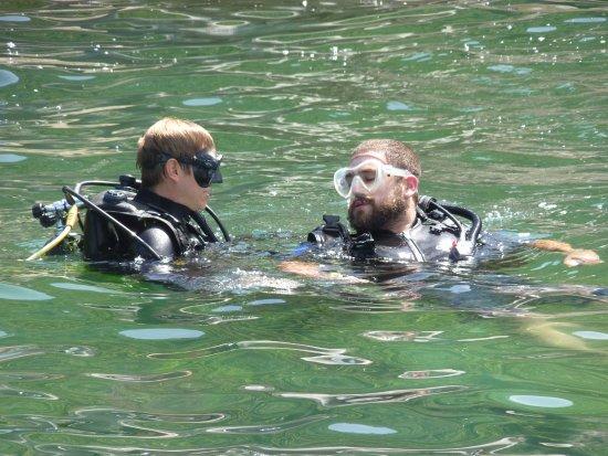 Água Viva Mergulho: Atendimento personalizado. Equipe muito atenciosa!