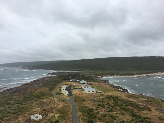 Augusta, Australia: View from the lighthouse back inland
