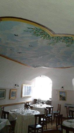 Ristorante Caminetto: Foto soffitto