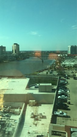 Bossier City, LA: View from 12th floor.