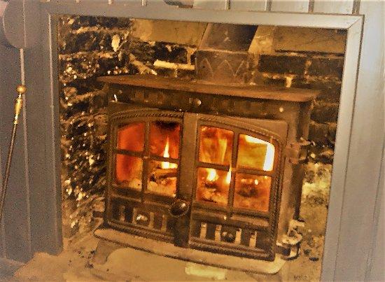 Pembury, UK: Wood Burner