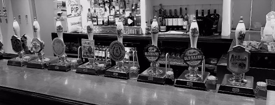 Pembury, UK: Anyone for Cask Ale? We have 8!