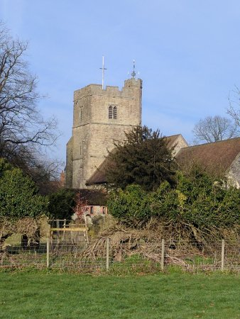 Lenham, UK: Village church