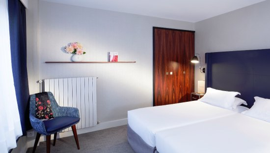 chambre twin - twin room - picture of londres et new york hotel