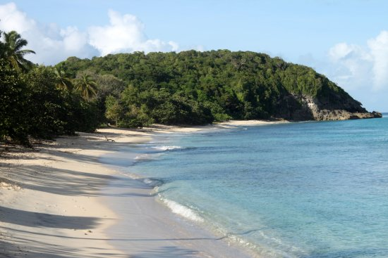 Saint Louis, Guadeloupe: A beach.