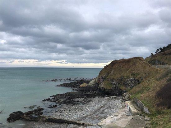 เบรย์, ไอร์แลนด์: Passeggiata rilassante tra Bray e Greystones, tra mare e montagna