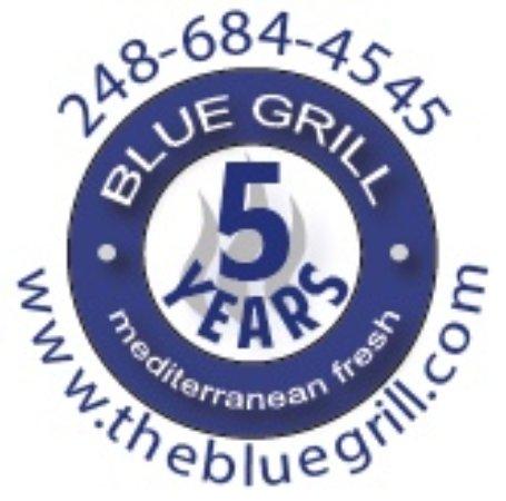 Μίλφορντ, Μίσιγκαν: 5 years BLUE GRILL restaurant in Milford anniversary!