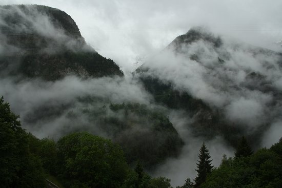 Mont-Blanc Express: One of many beathtaking views