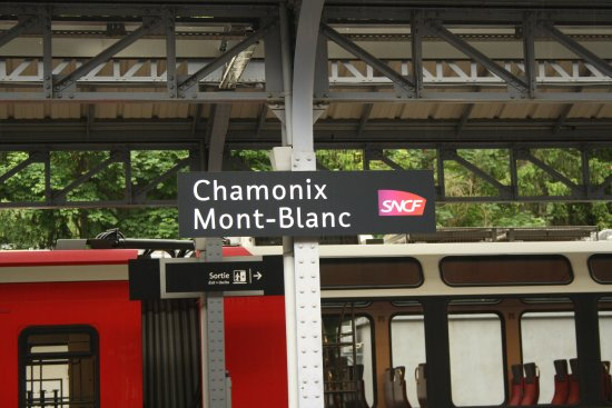 Mont-Blanc Express: In Chamonix