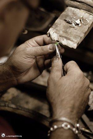 Moissac, Francja: Vu sur l'atelier