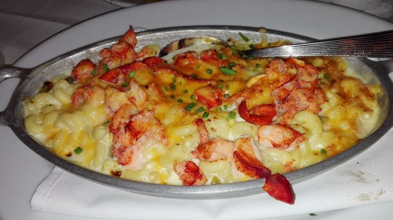 Lobster Mac and cheese - Picture of Ruth's Chris Steak House, Atlanta - TripAdvisor