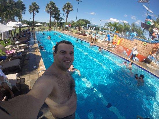 Bourbon Atibaia Convention & Spa Resort: Vista da piscina