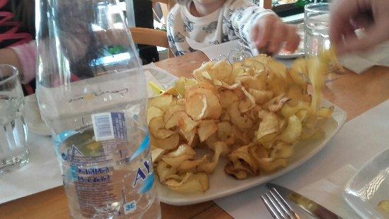 Glyfada, Hellas: papas fritas