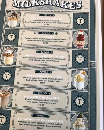 Menu Picture Of The Toothsome Chocolate Emporium Savory