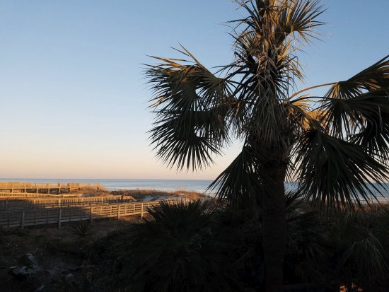 Ocean Isle Beach, NC: View from our room patio.