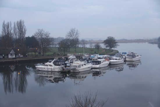 Oulton Broad from Room