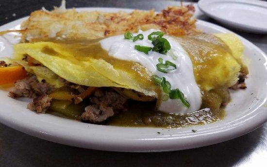 Auburn, Kaliforniya: Omelette