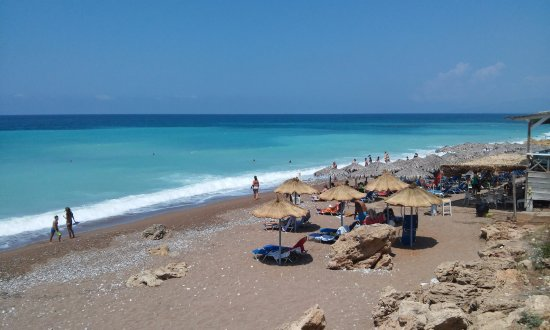 Kalo Nero, Grecia: From pool to the beach